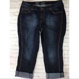 Like new Perfectly slim  Lane Bryant 22 jeans